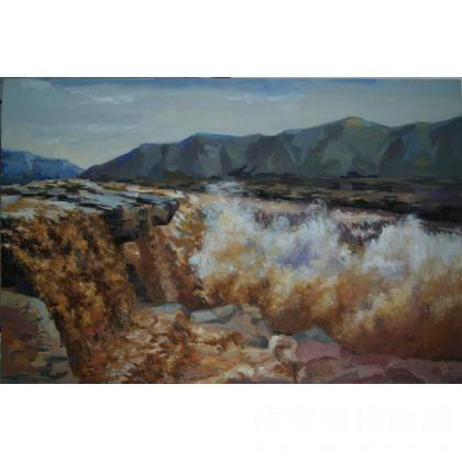 国画;油画; 名家 张清泉国际艺栈作品交易平台